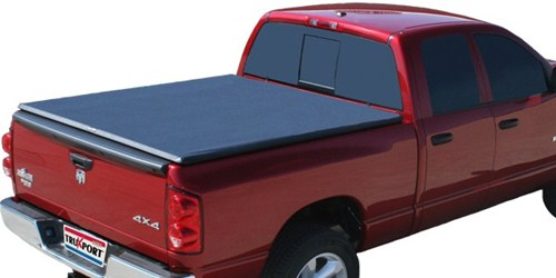 TruXedo TruXport Soft, Roll-Up Tonneau Cover Top of Bed Rails - Covers Stake Pockets TX248901