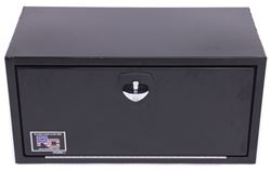 RC Manufacturing Z-Series Truck or Trailer Underbody Toolbox - Steel - 6.75 Cu Ft - Black