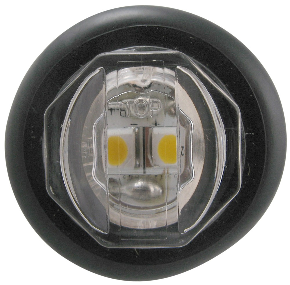 Optronics Uni Lite Led Mini Trailer Utility Light Submersible 2 Kit W 2539 Wiring Harness Lights Diodes Round Clear Lens Ucl11ckb