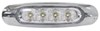 Optronics Miro-Flex LED Trailer Utility Light - Submersible - 4 Diodes - Oval - Clear Lens LED Light UCL19CB