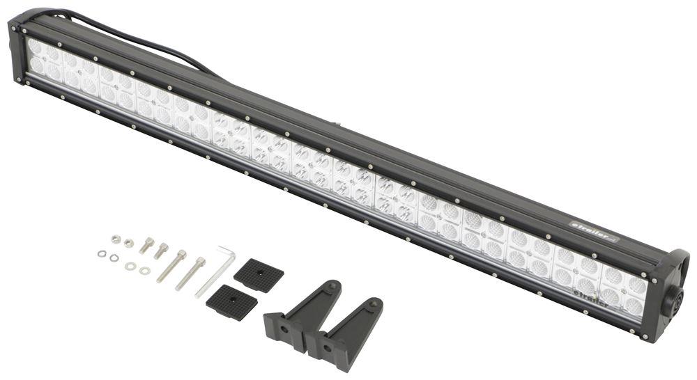 optronics led off-road light bar - 12 600 lumens