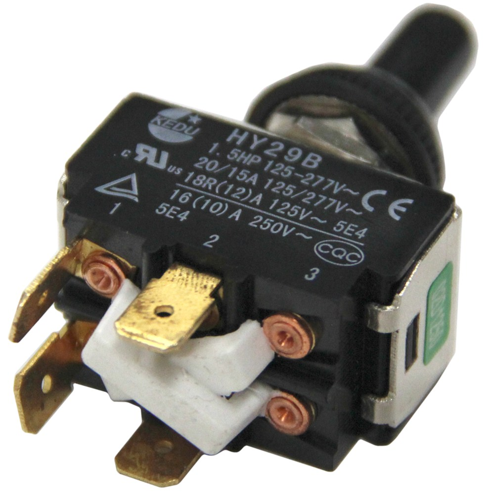Replacement Toggle ON/OFF Motor Switch for Ultra Fab Powered Jacks on
