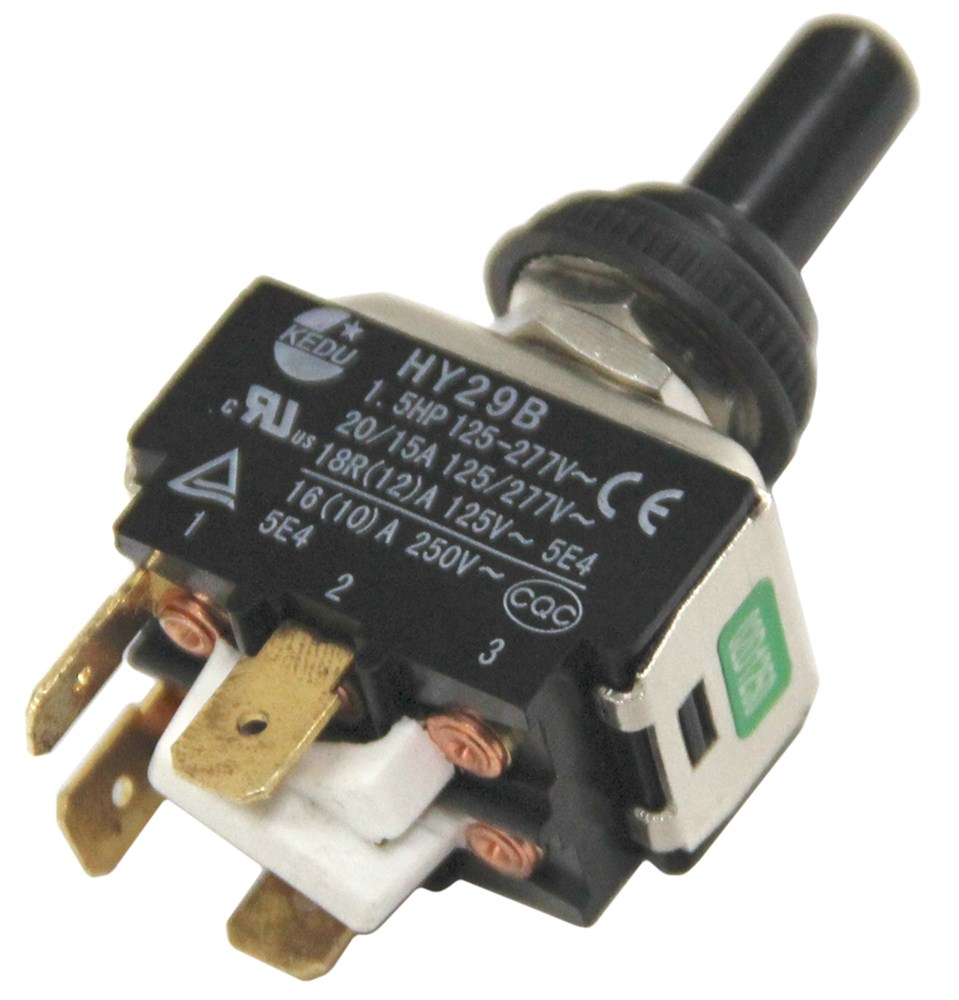Toggle Switch Replacement Parts : Replacement toggle on off motor switch for ultra fab
