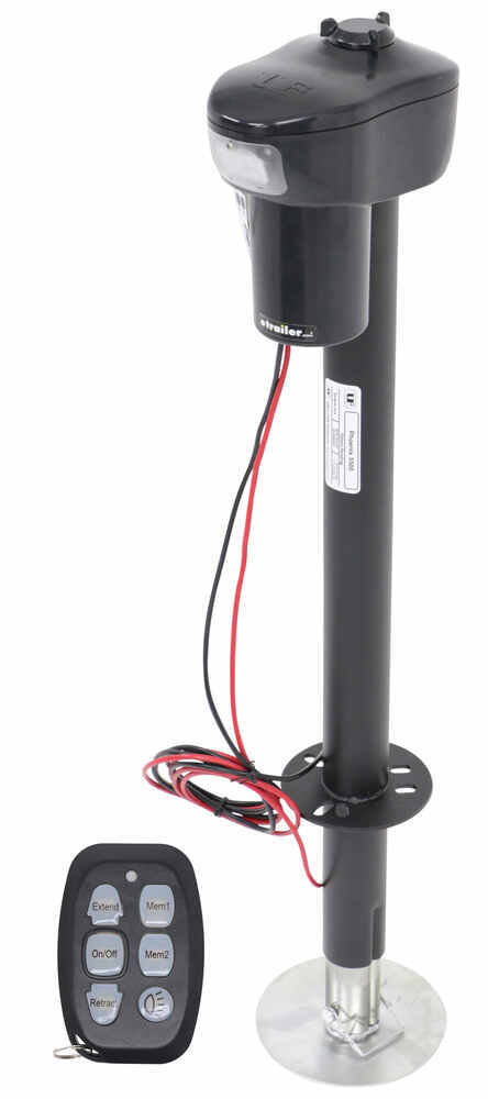 "Phoenix Electric Trailer Jack with Remote - A-Frame - 26"" Lift - 5,500 lbs Bolt-On UF38-944055"
