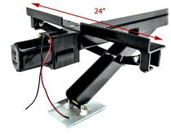 "Ultra-Fab Power Twin II Electric Stabilizer for Trailers and RVs - 22"" Lift - 6,000 lbs"