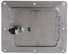 "Ultra-Fab Universal Access Door for Trailers and RVs - 5"" x 5"" Opening - Chrome Chrome UF48-979010"