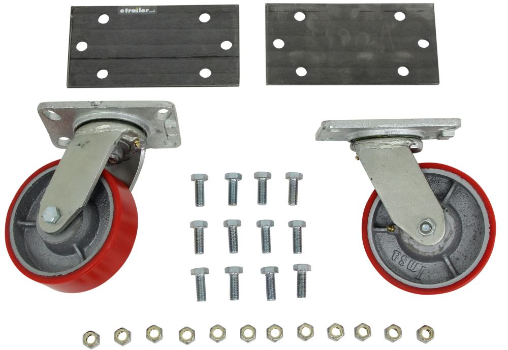 Ultra-Fab Products Weld-On Skid Wheels - UF48-979013