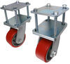 "Ultra-Fab Rotating, Hitch Mounted Skid Wheels for RVs up to 30' Long - 4"" Diameter - Qty 2"