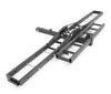 ultra-fab products hitch cargo carrier motorcycle class iii iv dirt bike for 2 inch hitches - with ramp 80 long 500 lbs