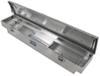 UWS Truck Bed Toolbox - Narrow Crossover - Slim Line Series - 3.4 cu ft - Bright Aluminum Aluminum UWS00301
