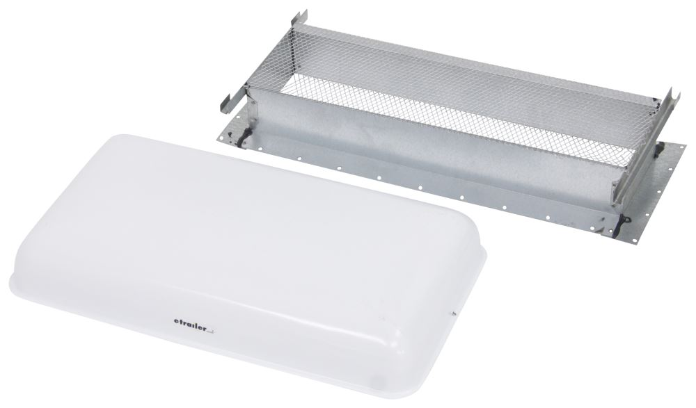 RV Vents and Fans V050400-V015703 - White - Ventline