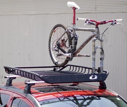 Kuat Vagabond Roof Mounted Cargo Basket W Built In Fork