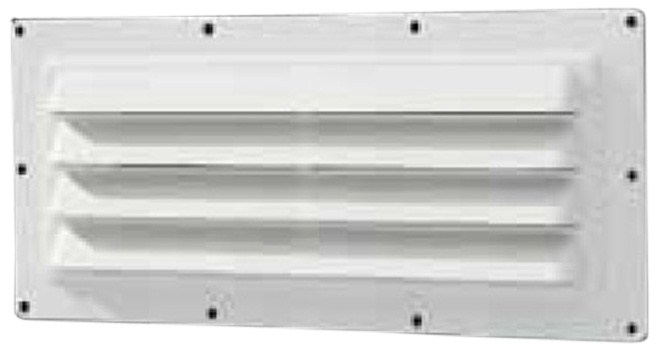 Ventline exterior wall vent for rv range hood louvered - Exterior bathroom exhaust vent covers ...