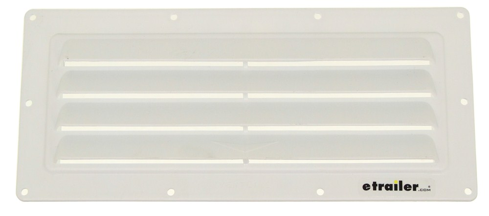 Ventline Exterior Wall Vent For Rv Range Hood Louvered Damperless 1 2 Collar White