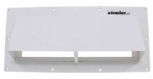 Ventline Exterior Wall Vent For Rv Range Hood Locking Damper 5 8 Collar White