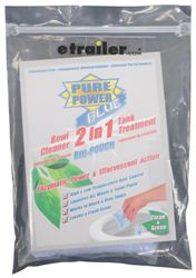 Pure Power Blue 2-in-1 Bowl Cleaner and Tank Treatment - Drop-Ins - Qty 1