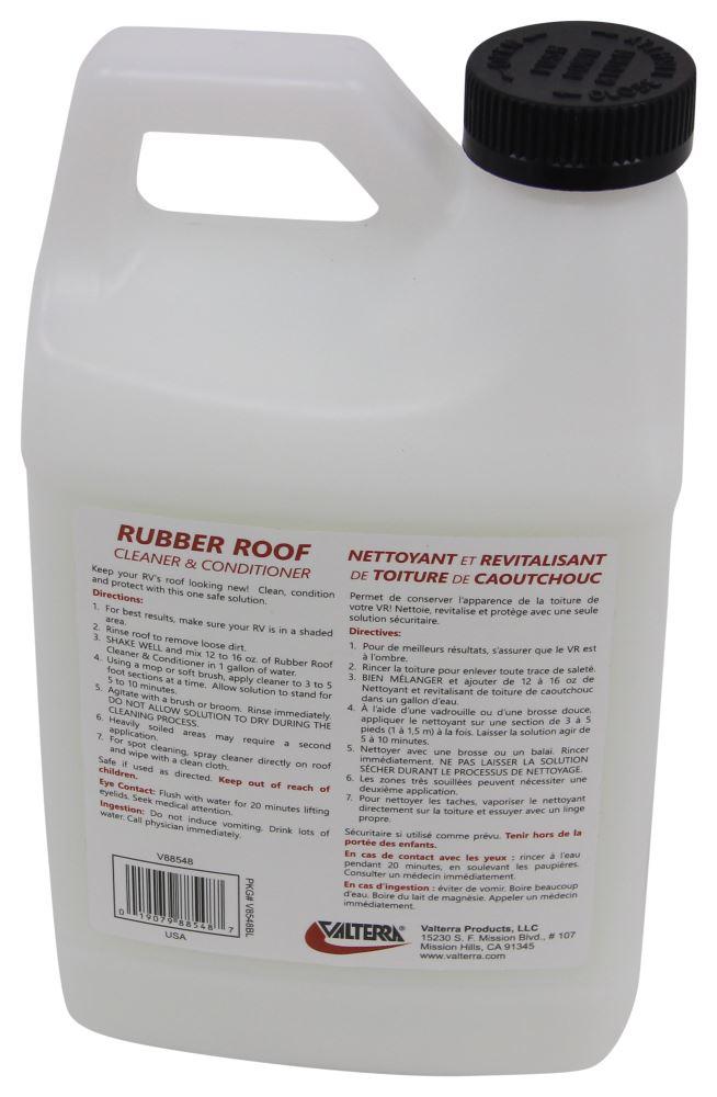 Valterra Rv Rubber Roof Cleaner 64 Oz Bottle Valterra Rv