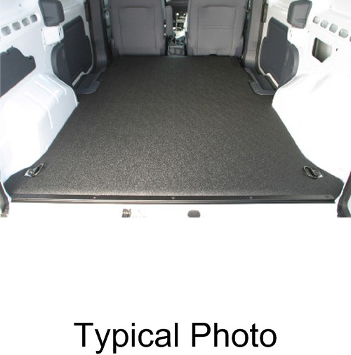 2012 Ford Transit Connect Refrigeration Mini Cargo Van: 2012 Ford Transit Connect VanTred Custom Floor Mat For