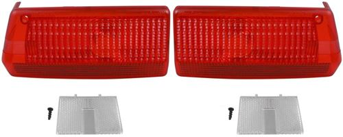 Replacement Lenses For Wesbar Wraparound Tail Lights
