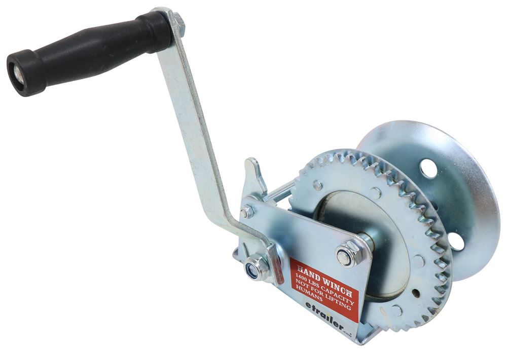 Replacement Hand Winch for Brophy Cable Camper Jacks - 1,400 lbs Hand Winch W14Z