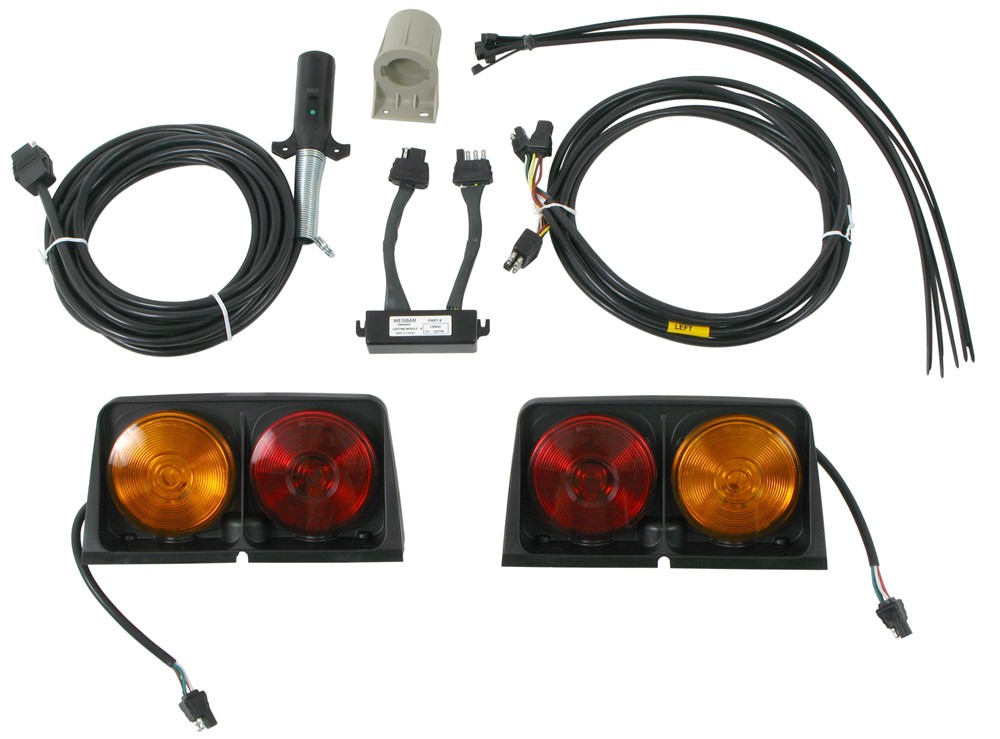 Wesbar Agricultural Lights w/ 7-Pole Connector and Enhanced ... on