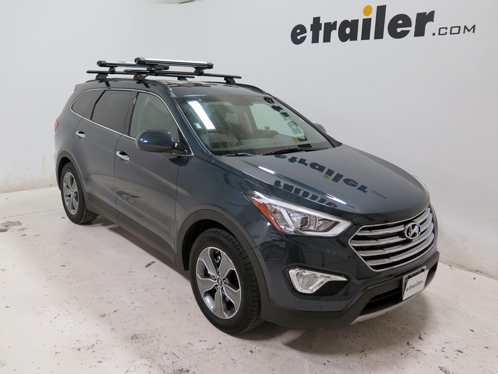 2007 hyundai santa fe whispbar locking rooftop ski and. Black Bedroom Furniture Sets. Home Design Ideas