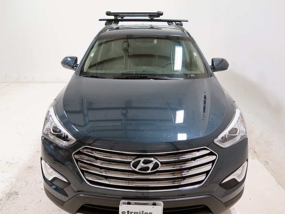 2007 hyundai santa fe whispbar locking rooftop ski and snowboard carrier 6 skis or 4 boards. Black Bedroom Furniture Sets. Home Design Ideas