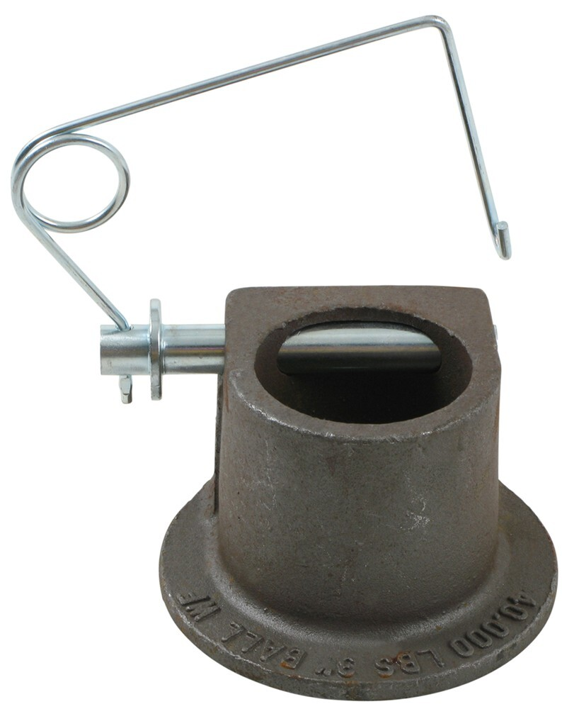 Gooseneck Coupler Head with Pin 3 Inch Ball