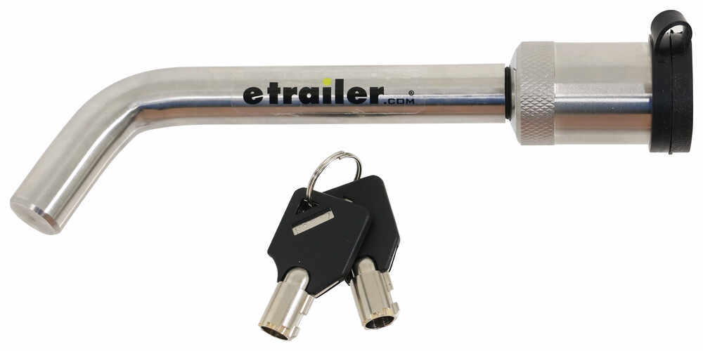 """Weigh Safe Hitch Receiver Lock for 2"""", 2-1/2"""", and 3"""" Hitches - 3-1/2"""" Span Keyed Unique WS05"""