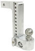 weigh safe ball mounts adjustable mount class iv 10000 lbs gtw 2-ball w/ built-in scale - 2 inch hitch 10 drop 11 rise 10k