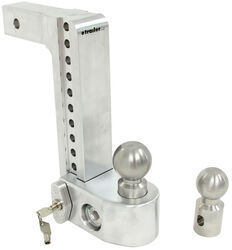 "Weigh Safe 2-Ball Mount w/ Built-In Scale - 2"" Hitch - 10"" Drop, 11"" Rise - 10K"