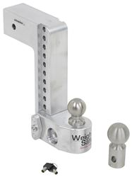 "Weigh Safe 2-Ball Mount w/ Built-In Scale - 3"" Hitch - 10"" Drop, 10"" Rise - 21K - WS10-3"