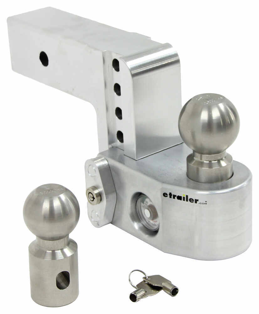 WS4-25 - Two Balls Weigh Safe Ball Mounts