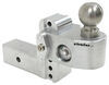 "Weigh Safe 2-Ball Mount w/ Built-In Scale - 2-1/2"" Hitch - 4"" Drop, 5"" Rise - 14.5K Two Balls WS4-25"