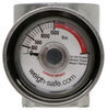 "Weigh Safe 2"" Hitch Ball w/ Built-In Scale - Stainless Steel - 10,000 lbs GTW Stainless Steel WSUN-2"