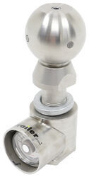 "Weigh Safe 2-5/16"" Hitch Ball w/ Built-In Scale - Stainless Steel - 10,000 lbs GTW"