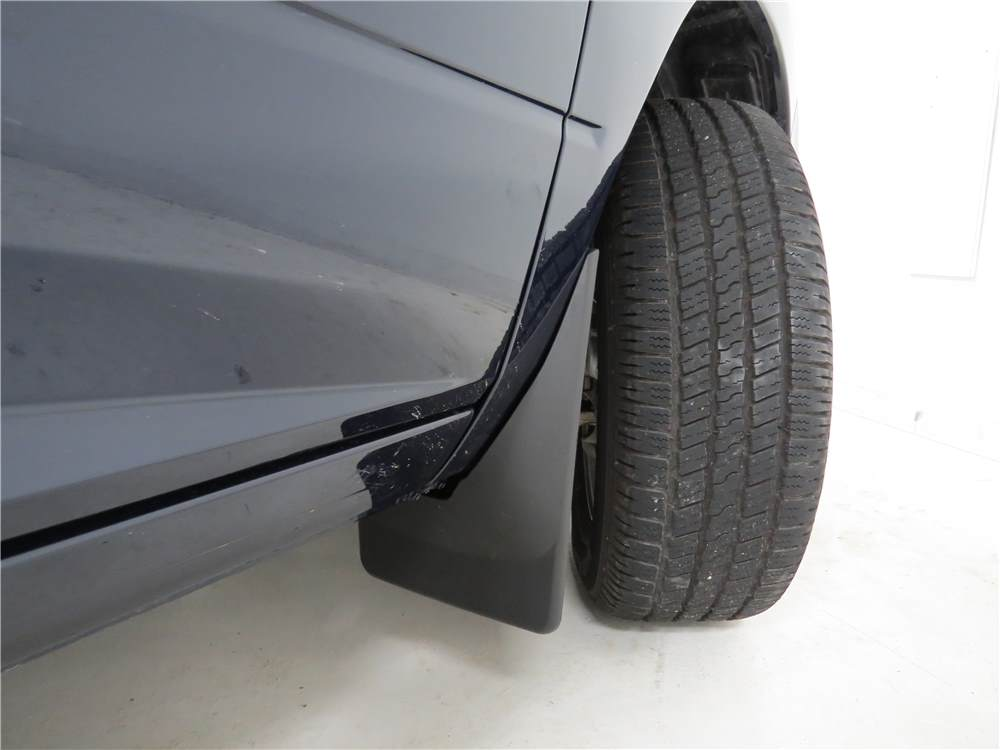 weathertech mud flaps - easy-install  no-drill  digital fit