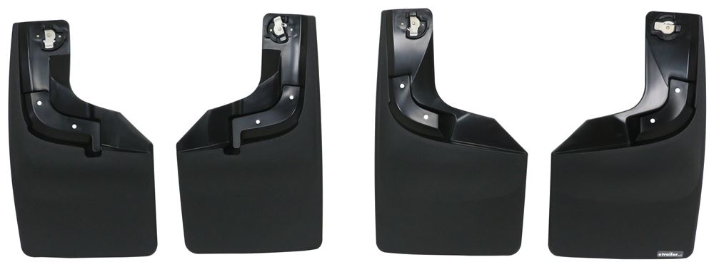 Mud Flaps WT110065-120065 - No-Drill Install - WeatherTech