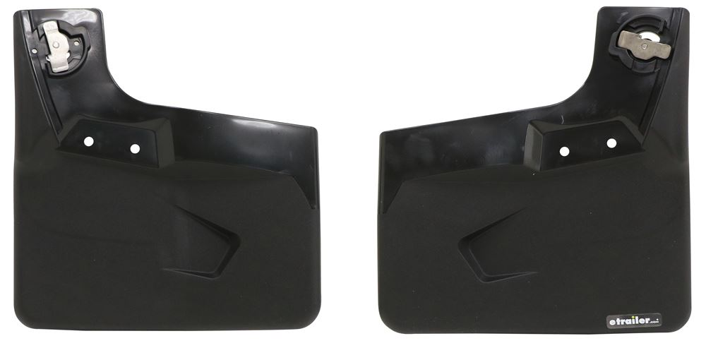 WeatherTech Mud Flaps - Easy-Install, No-Drill, Digital Fit - Front Pair Custom Width WT110088