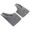 WeatherTech Mud Flaps - Easy-Install, No-Drill, Digital Fit - Rear Pair Mounts Inside Fenders WT120026