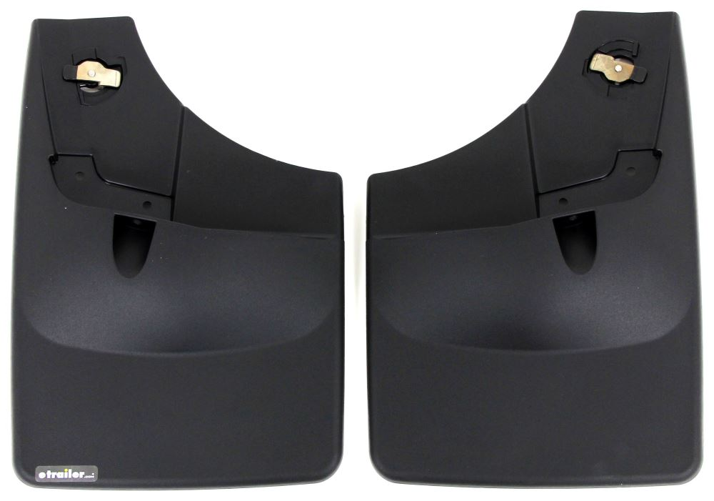 WeatherTech Mud Flaps - Easy-Install, No-Drill, Digital Fit - Rear Pair Rear Pair WT120050