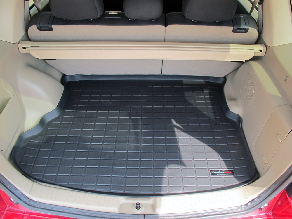 2010 ford escape weathertech cargo liner black. Black Bedroom Furniture Sets. Home Design Ideas