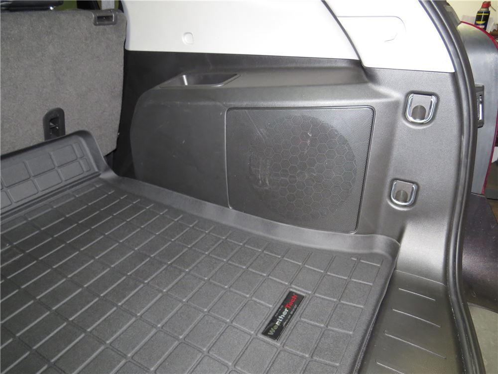 2017 Chevrolet Equinox Weathertech Cargo Liner Black