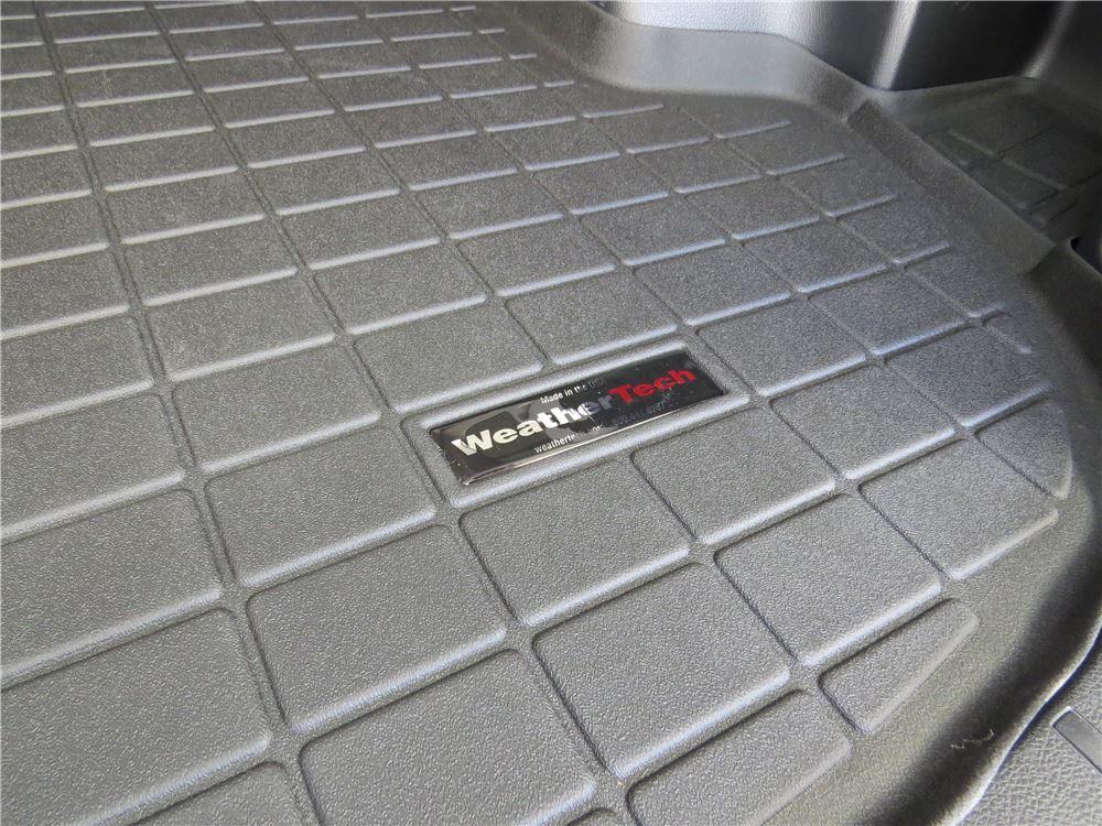 2017 Subaru Forester Weathertech Cargo Liner Black