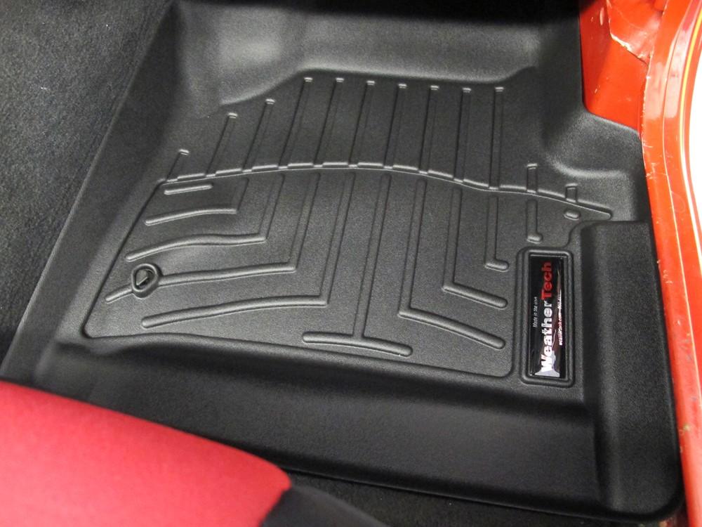 WeatherTech Front Auto Floor Mats - Black WeatherTech Floor Mats WT440421