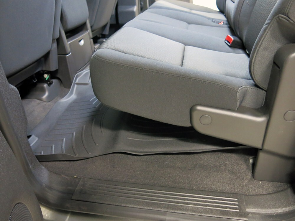 2013 Chevrolet Silverado Floor Mats Weathertech