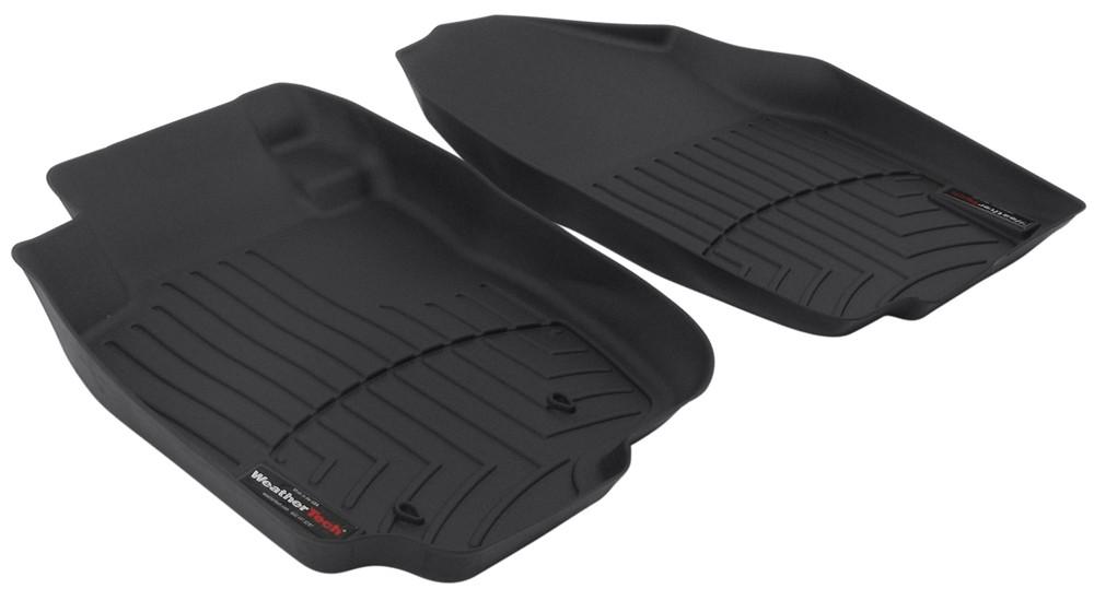 2008 toyota rav4 weathertech front auto floor mats black. Black Bedroom Furniture Sets. Home Design Ideas