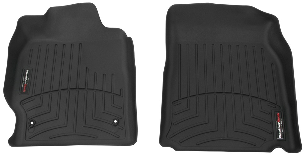 2007 toyota camry weathertech front auto floor mats black. Black Bedroom Furniture Sets. Home Design Ideas