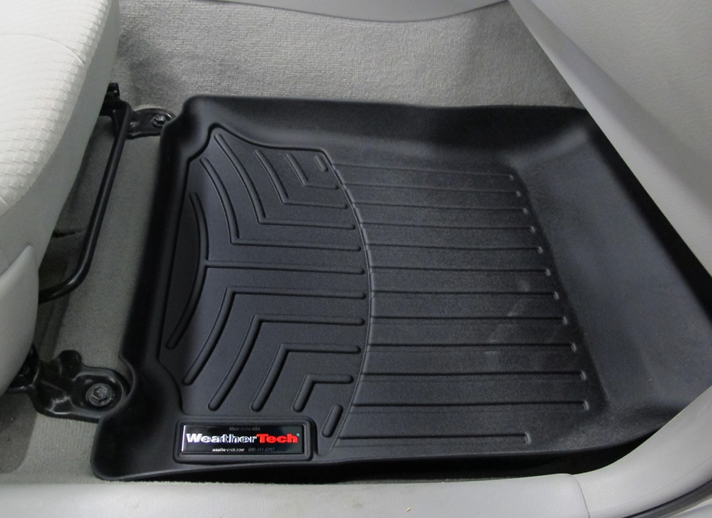 2009 toyota camry weathertech front auto floor mats black. Black Bedroom Furniture Sets. Home Design Ideas