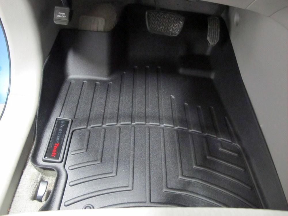 2008 toyota highlander weathertech front auto floor mats black. Black Bedroom Furniture Sets. Home Design Ideas